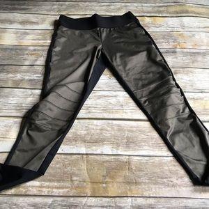 Forever 21 Moto Leggings